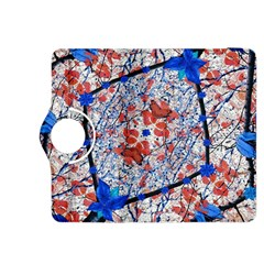 Floral Pattern Digital Collage Kindle Fire HDX 8.9  Flip 360 Case by dflcprints