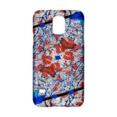 Floral Pattern Digital Collage Samsung Galaxy S5 Hardshell Case  by dflcprints