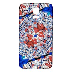 Floral Pattern Digital Collage Samsung Galaxy S5 Back Case (white) by dflcprints