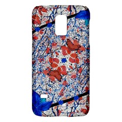 Floral Pattern Digital Collage Samsung Galaxy S5 Mini Hardshell Case  by dflcprints