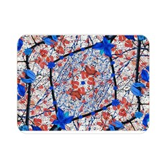 Floral Pattern Digital Collage Double Sided Flano Blanket (mini) by dflcprints