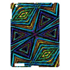 Tribal Style Colorful Geometric Pattern Apple Ipad 3/4 Hardshell Case by dflcprints