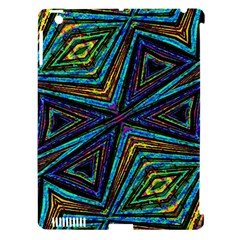 Tribal Style Colorful Geometric Pattern Apple Ipad 3/4 Hardshell Case (compatible With Smart Cover) by dflcprints