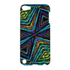 Tribal Style Colorful Geometric Pattern Apple Ipod Touch 5 Hardshell Case by dflcprints