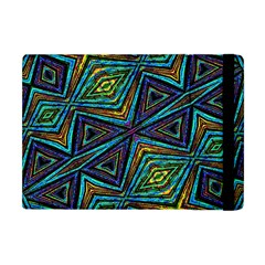 Tribal Style Colorful Geometric Pattern Apple Ipad Mini Flip Case by dflcprints
