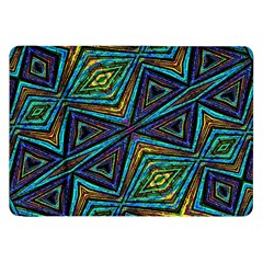 Tribal Style Colorful Geometric Pattern Samsung Galaxy Tab 8 9  P7300 Flip Case by dflcprints