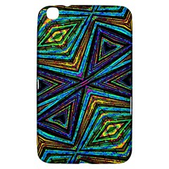 Tribal Style Colorful Geometric Pattern Samsung Galaxy Tab 3 (8 ) T3100 Hardshell Case  by dflcprints