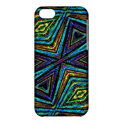 Tribal Style Colorful Geometric Pattern Apple Iphone 5c Hardshell Case by dflcprints