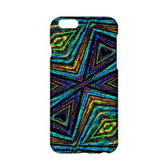 Tribal Style Colorful Geometric Pattern Apple Iphone 6 Hardshell Case by dflcprints