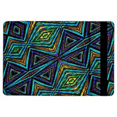 Tribal Style Colorful Geometric Pattern Apple Ipad Air 2 Flip Case by dflcprints
