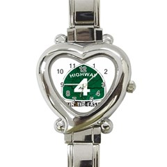 Hwy 4 Website Pic Cut 2 Page4 Heart Italian Charm Watch