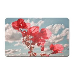 Flowers In The Sky Magnet (rectangular) by dflcprints