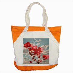 Flowers In The Sky Accent Tote Bag by dflcprints