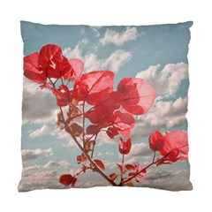 Flowers In The Sky Cushion Case (single Sided)  by dflcprints