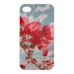 Flowers In The Sky Apple Iphone 4/4s Premium Hardshell Case by dflcprints