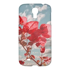 Flowers In The Sky Samsung Galaxy S4 I9500/i9505 Hardshell Case by dflcprints