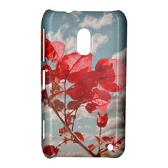 Flowers In The Sky Nokia Lumia 620 Hardshell Case by dflcprints