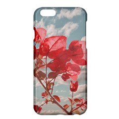 Flowers In The Sky Apple Iphone 6 Plus Hardshell Case by dflcprints