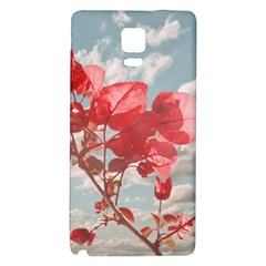 Flowers In The Sky Samsung Note 4 Hardshell Back Case