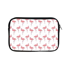 Pink Flamingo Pattern Apple Ipad Mini Zippered Sleeve by CrypticFragmentsColors