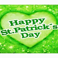 Unique Happy St  Patrick s Day Design Canvas 20  X 24  (unframed) by dflcprints