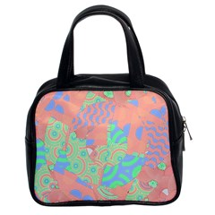 Tropical Summer Fruit Salad Classic Handbag (two Sides) by CrypticFragmentsColors