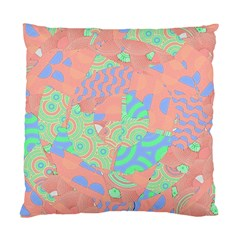 Tropical Summer Fruit Salad Standard Cushion Case (one Side) by CrypticFragmentsColors