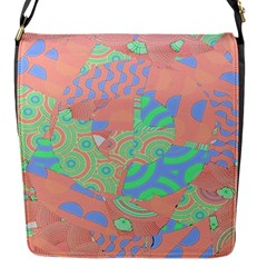 Tropical Summer Fruit Salad Flap Closure Messenger Bag (s) by CrypticFragmentsColors