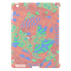 Tropical Summer Fruit Salad Apple Ipad 3/4 Hardshell Case (compatible With Smart Cover) by CrypticFragmentsColors