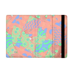 Tropical Summer Fruit Salad Apple Ipad Mini Flip Case by CrypticFragmentsColors