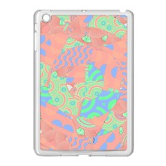 Tropical Summer Fruit Salad Apple Ipad Mini Case (white) by CrypticFragmentsColors