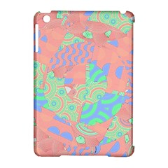 Tropical Summer Fruit Salad Apple Ipad Mini Hardshell Case (compatible With Smart Cover) by CrypticFragmentsColors