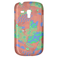 Tropical Summer Fruit Salad Samsung Galaxy S3 Mini I8190 Hardshell Case by CrypticFragmentsColors