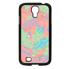 Tropical Summer Fruit Salad Samsung Galaxy S4 I9500/ I9505 Case (black) by CrypticFragmentsColors