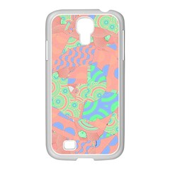 Tropical Summer Fruit Salad Samsung Galaxy S4 I9500/ I9505 Case (white) by CrypticFragmentsColors