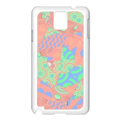 Tropical Summer Fruit Salad Samsung Galaxy Note 3 N9005 Case (white) by CrypticFragmentsColors