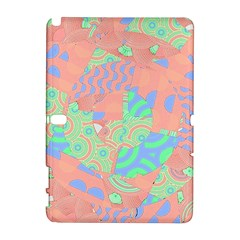 Tropical Summer Fruit Salad Samsung Galaxy Note 10 1 (p600) Hardshell Case by CrypticFragmentsColors