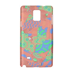 Tropical Summer Fruit Salad Samsung Galaxy Note 4 Hardshell Case by CrypticFragmentsColors