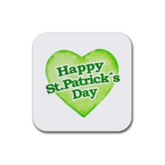 Happy St Patricks Day Design Drink Coaster (square) by dflcprints