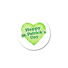 Happy St Patricks Day Design Golf Ball Marker by dflcprints
