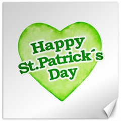 Happy St Patricks Day Design Canvas 16  X 16  (unframed) by dflcprints