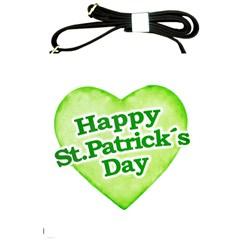 Happy St Patricks Day Design Shoulder Sling Bag by dflcprints