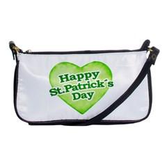 Happy St Patricks Day Design Evening Bag by dflcprints