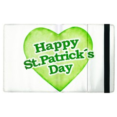 Happy St Patricks Day Design Apple Ipad 3/4 Flip Case by dflcprints
