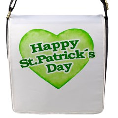 Happy St Patricks Day Design Flap Closure Messenger Bag (small) by dflcprints