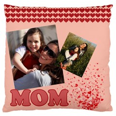 Mothers Day By Mom   Large Flano Cushion Case (two Sides)   Xao83dk6ut3m   Www Artscow Com Front