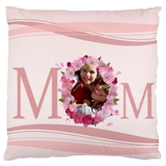 Mothers Day By Mom   Large Flano Cushion Case (two Sides)   7tpldo7wic7o   Www Artscow Com Front