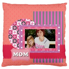 Mothers Day By Mom   Large Flano Cushion Case (two Sides)   4i3aeekfm4tl   Www Artscow Com Front