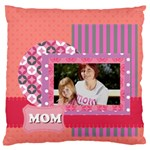 mothers day - Large Flano Cushion Case (Two Sides)
