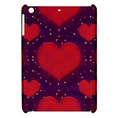 Galaxy Hearts Grunge Style Pattern Apple Ipad Mini Hardshell Case by dflcprints